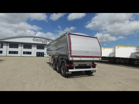 Newton Steel Aggregate Tipping Trailer or Demolition Tipping Trailer for sale