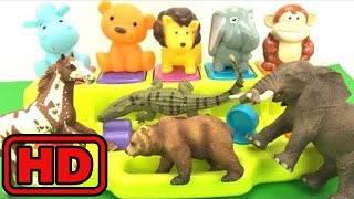Kid -Kids -Learn ZOO Wild Animals With Fun Toy Cute Animals And Schleich Zoo Animals/Insects Learni