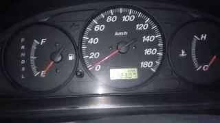 Глюк с заводкой двигателя Mazda Familia