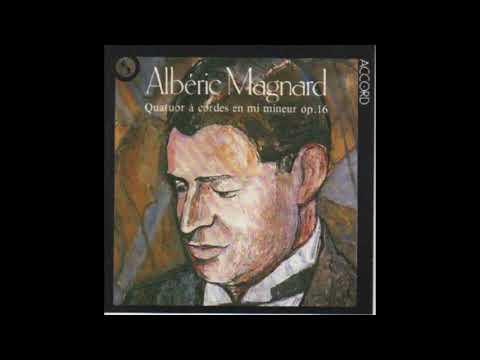 Magnard — Quatuor en Mi mineur, op. 16. [3] : Chant funèbre