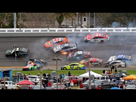 Ryan Newman, Kurt Busch Involved in Multi-Car Crash at Daytona 500