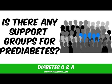Are There Support Groups For People With Prediabetes?