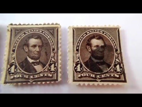 Video of 1879-1894 U.S. Postage Stamps