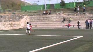 2011 MBC꿈나무축구 키즈리그 U-10 골클럽vs의왕정우(준결승전)전반