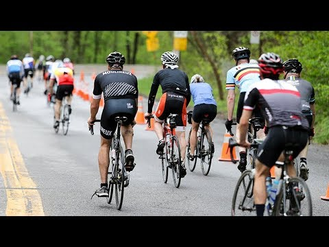 Montreal's first Cyclovia event on Mount Royal