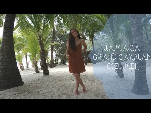 Caribbean Travel Vlog   Jamaica, Grand Cayman, Cozumel