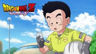 Dragon Ball Z Fukkastu no F - Officer Krillin