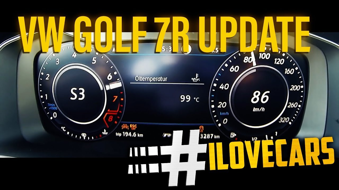 Golf R 0 60 >> 2017 Vw Golf R 310ps Update 0 100 Km H 0 60 Acceleration