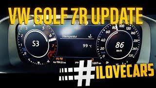 2017 VW Golf R 310PS Update 0-100 km/h 0-60 acceleration Beschleunigung Volkswagen - #ilovecars