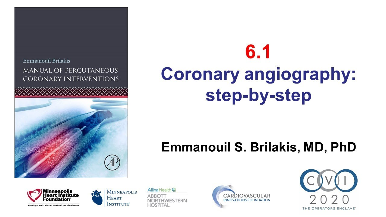 Download 6.1 Manual of PCI - How to perform coronary angiography