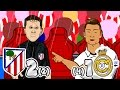 ATLETI OUT! Atletico Madrid vs Real Madrid (Parody 2-1 Semi-Final Champions League Goals Highlights)