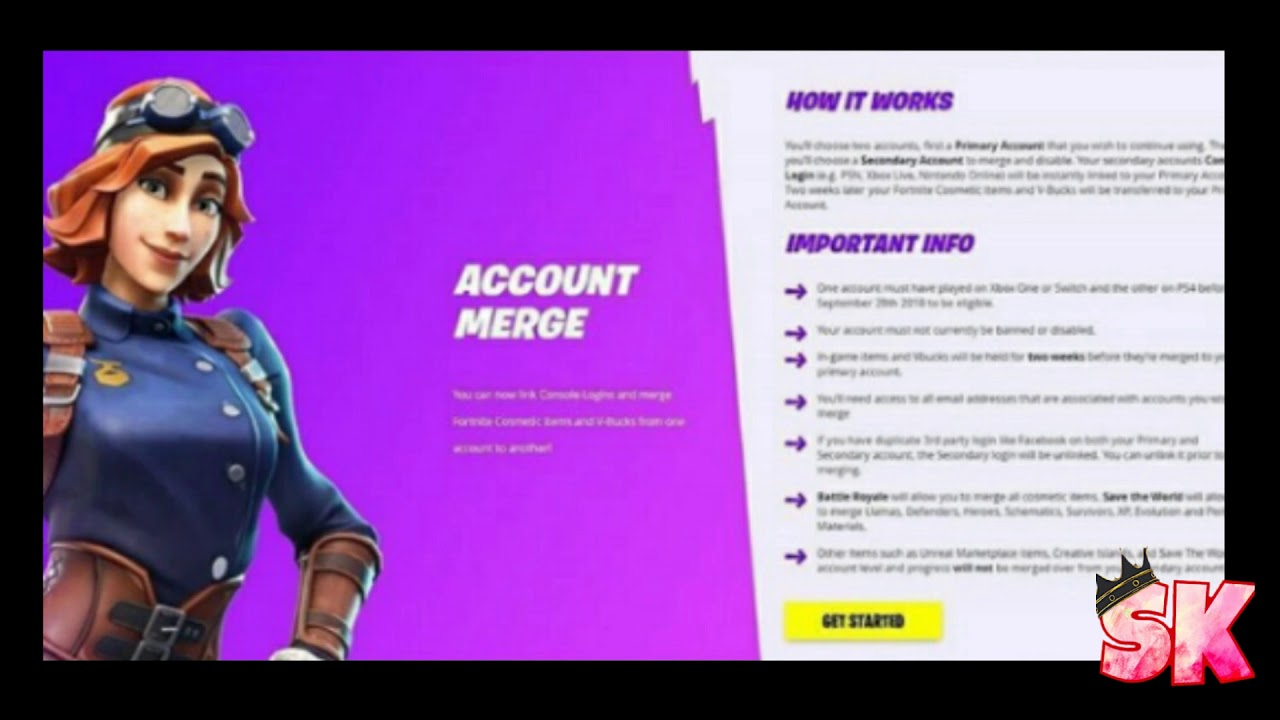 Fortnite Account Merging Is Available For All Platforms!