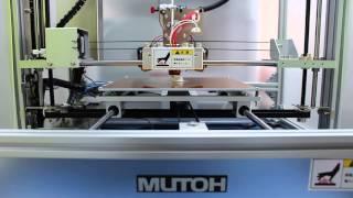mutoh value 3d magix mf 1000 個人3d立體列印 樣品快速製作 rp rapid prototype 影片