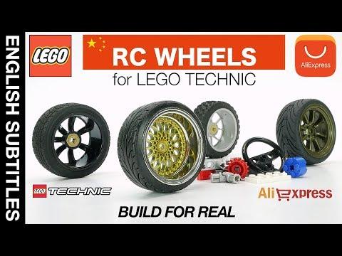 КРУТЫЕ RC КОЛЕСА для LEGO самоделок, НЕДОРОГО! - RC WHEELS And LEGO Technic
