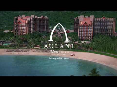 "Disney Aulani Resort - Hawaii ""Whole New World"" TV Commercial (2013)"