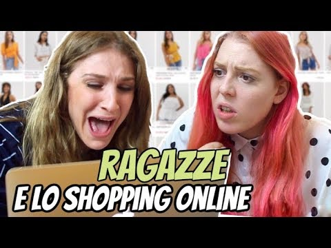 newest 269fd 37fe1 TIPOLOGIE di RAGAZZE durante lo SHOPPING ONLINE 🛍