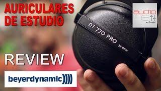 Beyerdynamic DT770 PRO AURICULARES DE ESTUDIO. Review