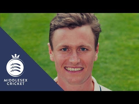 Nick Gubbins 2017 Middlesex Cricket Player Profile