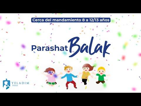 Parashat #Balak para Niños  - (8 años hasta bat/bar Mitzva)