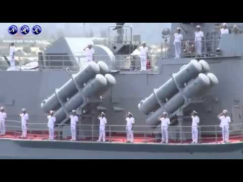 Vietnam People's Navy Day Parade in Cam Ranh 2/5/2015