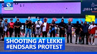 Lekki #EndSARS Protest: How Security Operatives Opened Fire At Lekki #EndSARS Protest – Pat Utomi