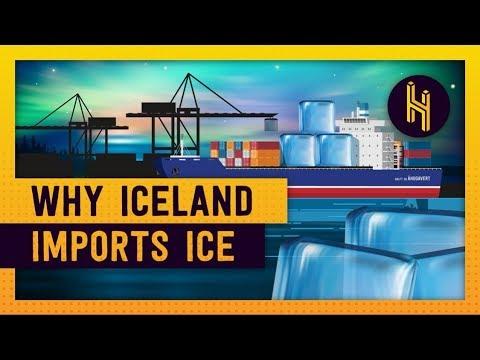 Why Iceland Imports Ice