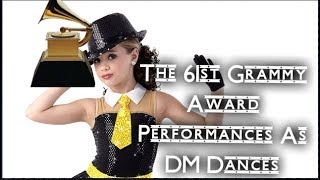 EVERY SINGLE 61st Grammy Performance As a Dance Moms Dance