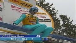 Janne Ahonen - 240m crash @ Planica 2005