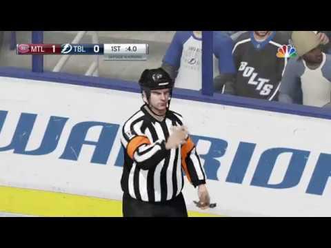 NHL® 18 Montreal Canadiens vs Tampa Bay Lightning
