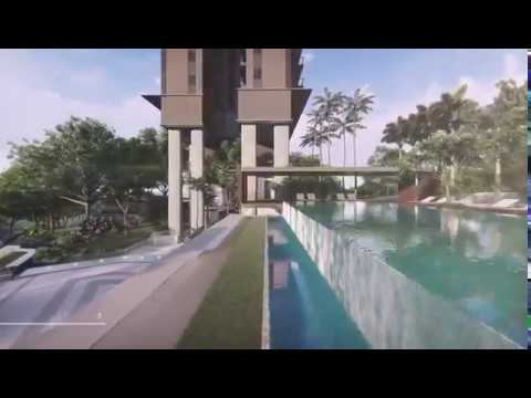 Stirling Residences Fly-through Video | Large New Condominium 3 To 5 Minute Walk To Queenstown MRT