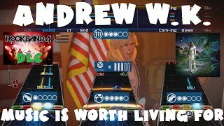 Andrew W.K. - Music Is Worth Living For - Rock Band 4 DLC Expert Full Band (December 20th 2018)