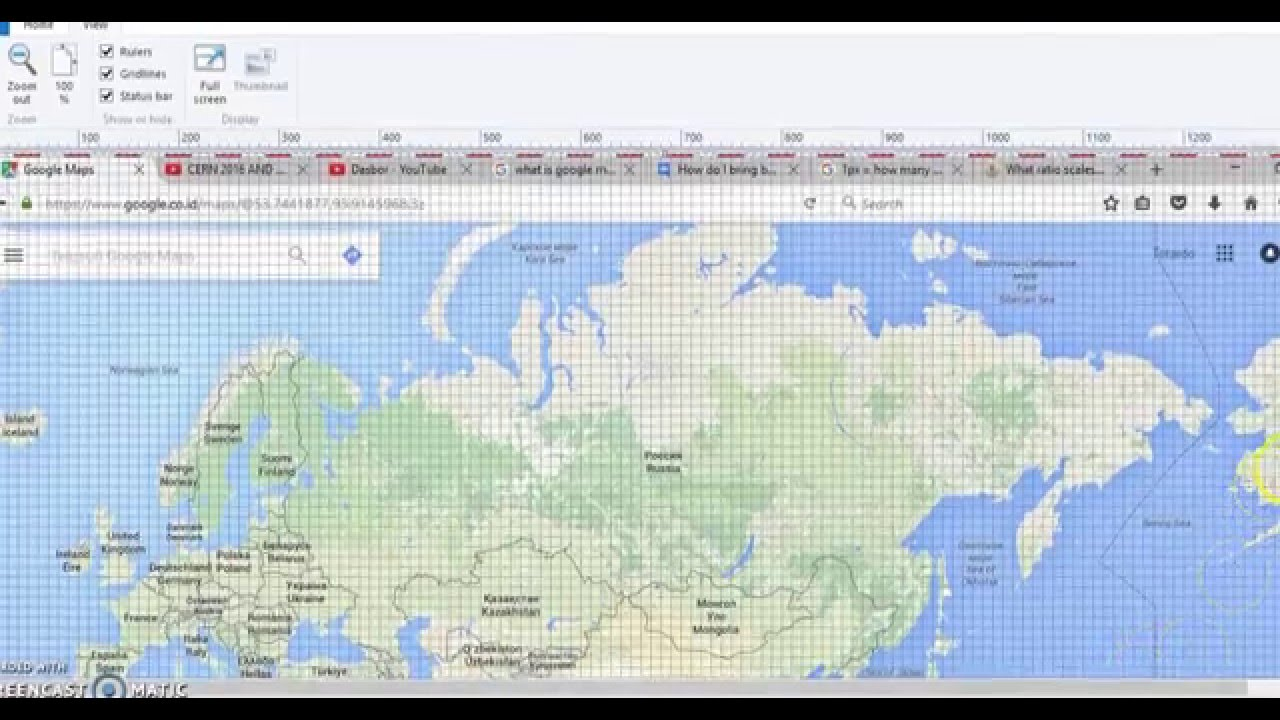 scales of google maps in kilometer and pixel youtube. Black Bedroom Furniture Sets. Home Design Ideas