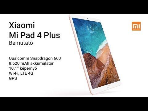 Xiaomi Mi Pad 4 Plus bemutató