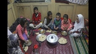 How Dry Rajima Recipe is made in Nagar Valley - Gilgit Baltistan