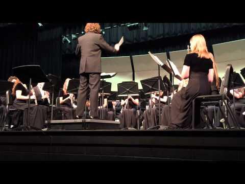 Woodgrove High School Winter Concert--Wind Ensemble 12112014