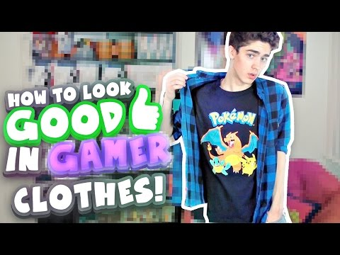 How to Look Good in Gamer Clothes! (Mens Fashion)