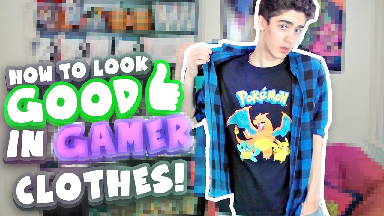 how to look good in gamer clothes mens fashion youtube. Black Bedroom Furniture Sets. Home Design Ideas