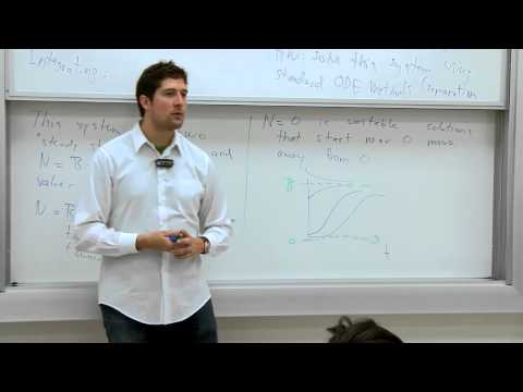 Mathematical Biology. 02: Bacterial Growth