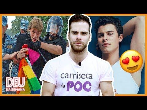 GAY AGREDIDO NA COPA DA RÚSSIA | SUVACO Do SHAWN MENDES | NANY PEOPLE Na GLOBO - Deu Na Semana