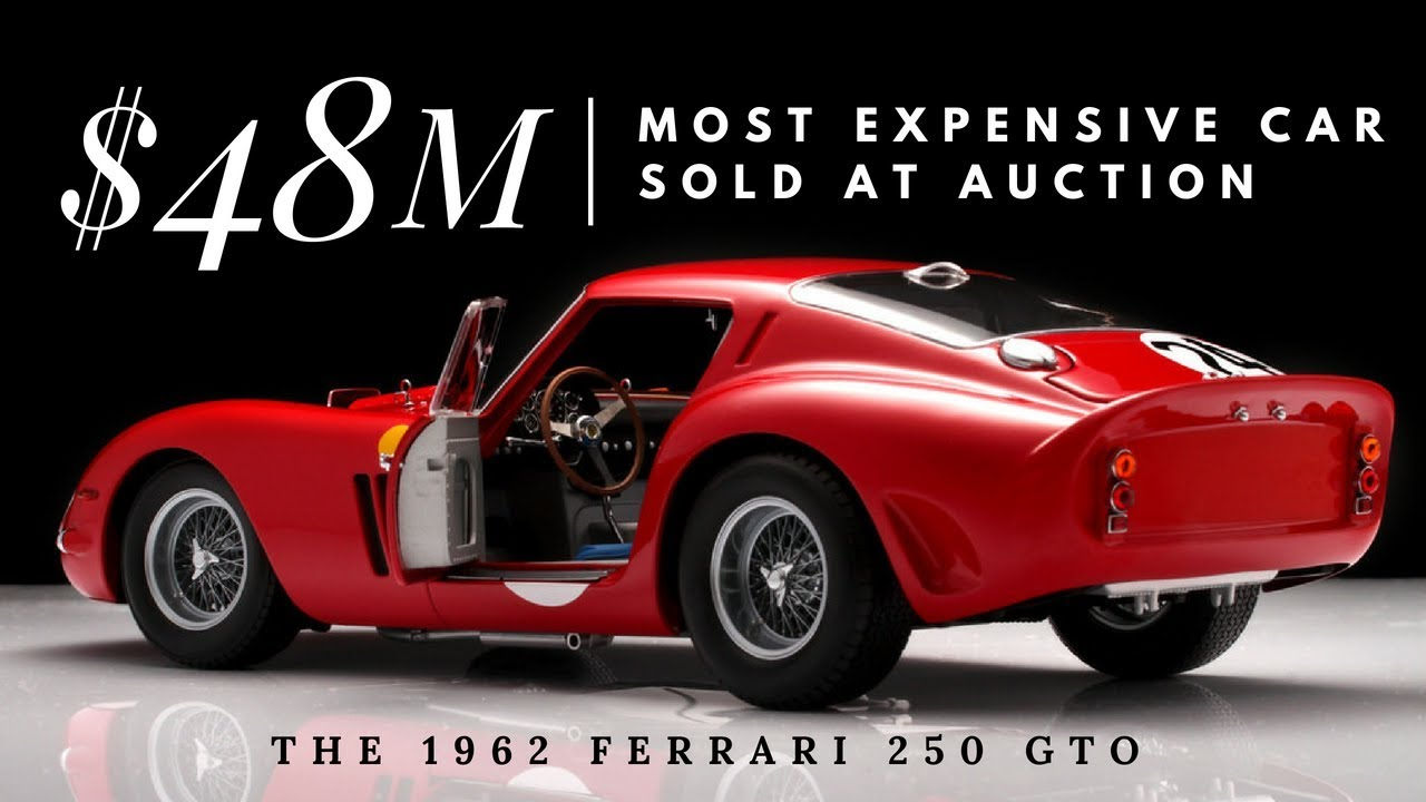 Top 10 Most Expensive Car Auctions