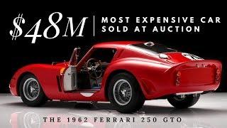 Full Auction of the $48M 1962 Ferrari 250 GTO (Monterey Car Week)