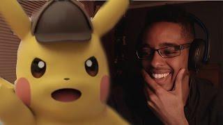 Great Detective Pikachu - Trailer Reaction