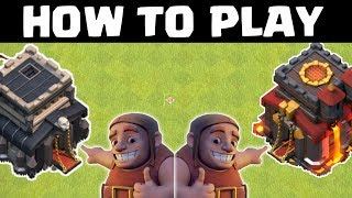 HOW TO PLAY TH9 & TH10, 2 NEW SERIES .CLASH OF CLANS INDIA