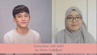 [EVERYSING] Everytime LIVE duet by JiDae [지혜종대]