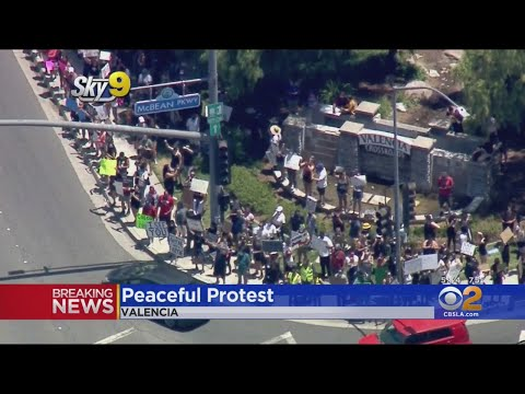 Santa Clarita Cancels Curfew As Protesters Take To Streets; Device 'Designed To Cause Harm' Found Ne