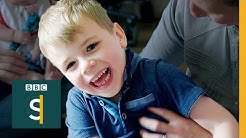 Sleepless parents whose boy has epileptic attacks in his sleep - BBC Stories