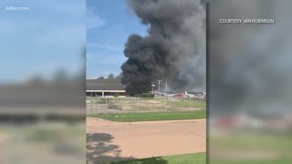 New video of Addison plane crash that left 10 dead