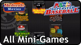 Mario Superstar Baseball - All Mini-Games