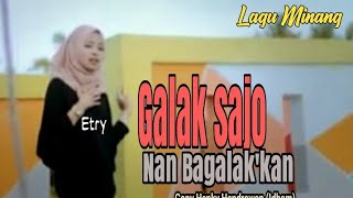 Slow Rock Minang - Galak Sajo Nan Bagalak'kan - Etry (Official Music Video)