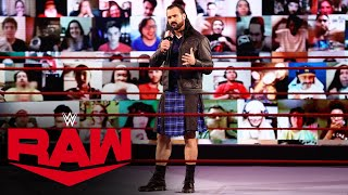 Drew McIntyre aims to take out King Corbin on path to Bobby Lashley Raw Apr 5 2021